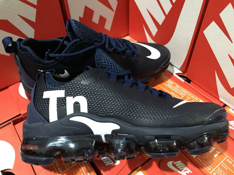 Wholesale Cheap Nike Air VaporMax Plus TN Navy Blue White