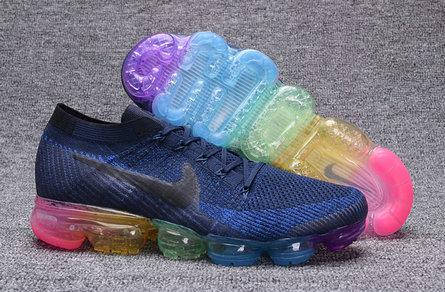 Cheap Wholesale Nike Air VaporMax Rainbow Blue
