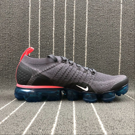 Wholesale Cheap Nike Air Vapormax FLYKNIT 2.0 942842-009 Thunder Grey White Geode Teal Gris Tonnerre Blanc