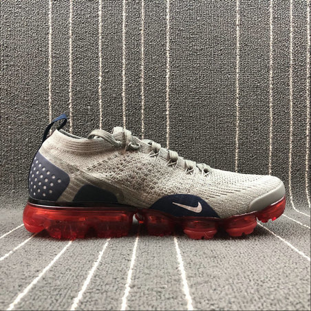 Wholesale Cheap Nike Air Vapormax FLYKNIT 2.0 942842-010 Dark Stucco Grey Fog-Obsidian Stic Fonce Gris Grenouille