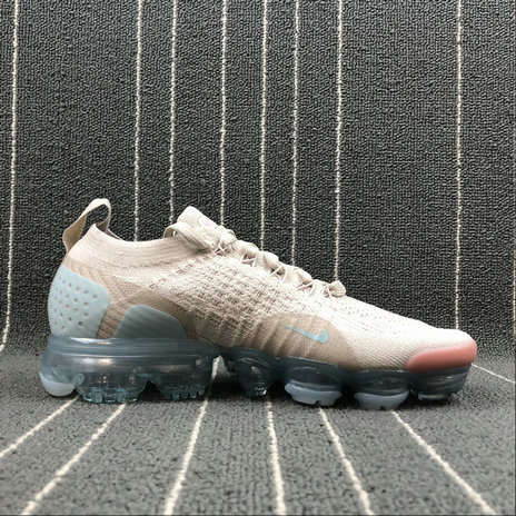 Wholesale Cheap Nike Air Vapormax FLYKNIT 2.0 Womens 942843-203 Particle Beige Somkey Mauve