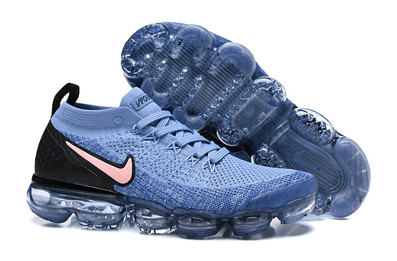Wholesale Cheap Nike Air Vapormax Flyknit 2 - Nike - 942842 401 - gym blue bordeaux-college navy