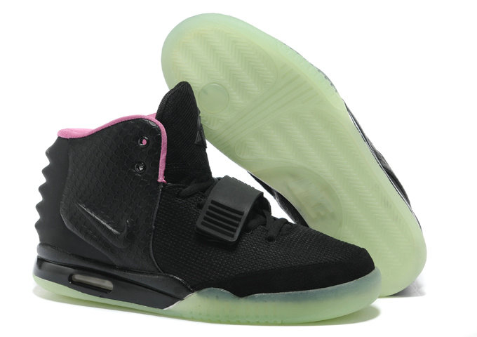 Cheap Wholesale Nike Air Yeezy 2 Black Pink