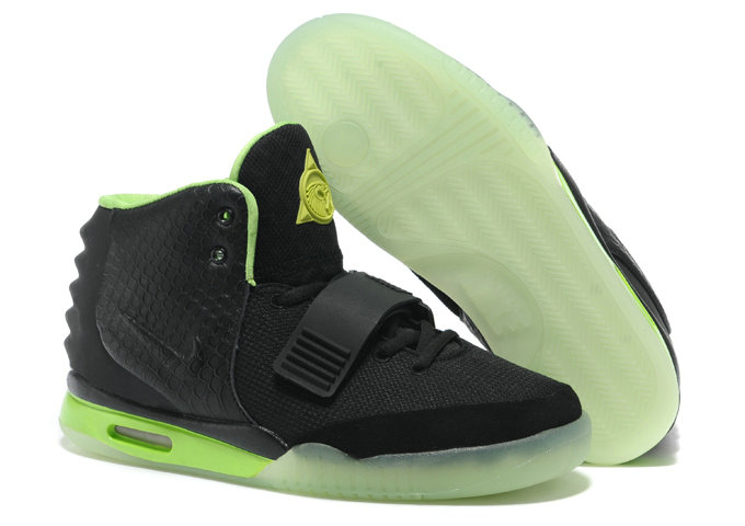 Cheap Wholesale Nike Air Yeezy 2 Green Black