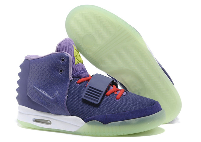 Cheap Wholesale Nike Air Yeezy 2 Purple Red