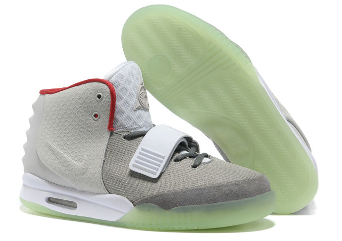 Cheap Wholesale Nike Air Yeezy 2 Red White Grey