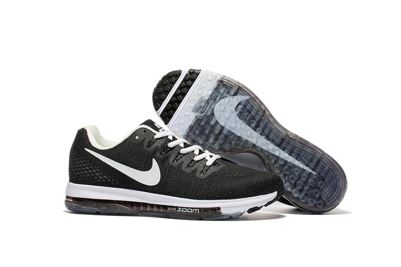 Cheap Wholesale Nike Air Zoom All Out Flyknit Mens Black Grey White
