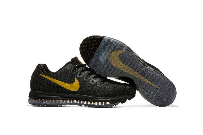 Cheap Wholesale Nike Air Zoom All Out Flyknit Mens Gold Black