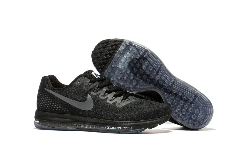 Cheap Wholesale Nike Air Zoom All Out Flyknit Mens Grey Black