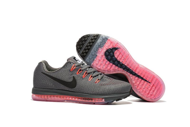Cheap Wholesale Nike Air Zoom All Out Flyknit Mens Grey Black Orange Pink