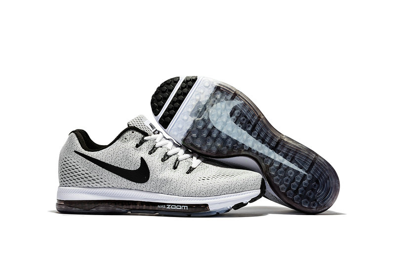 Cheap Wholesale Nike Air Zoom All Out Flyknit Mens White Black Grey