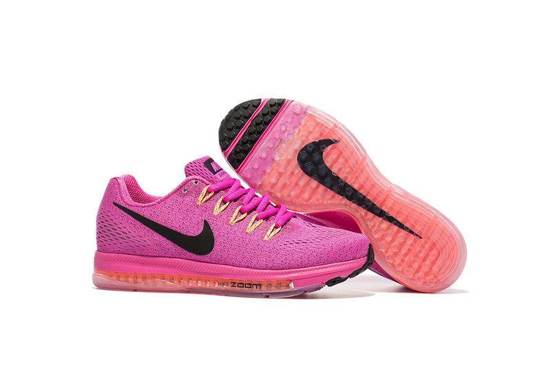 Cheap Wholesale Nike Air Zoom All Out Flyknit Womens Pink Black Red