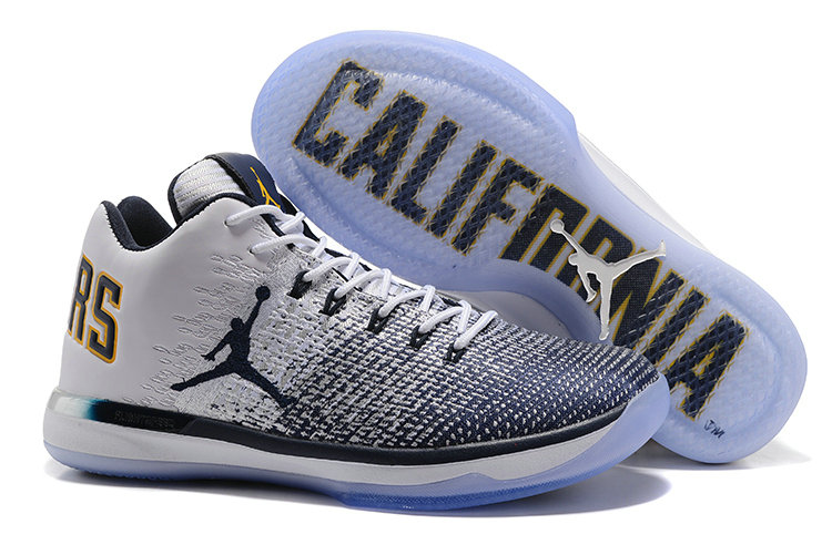 Cheap Wholesale Nike AirJordan 31 Low Grey White Black Yellow