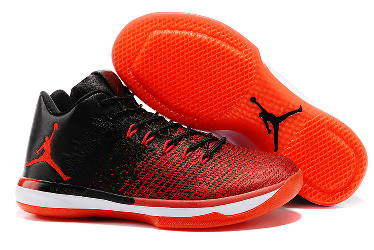 Cheap Wholesale Nike AirJordan 31 Low Red Black White