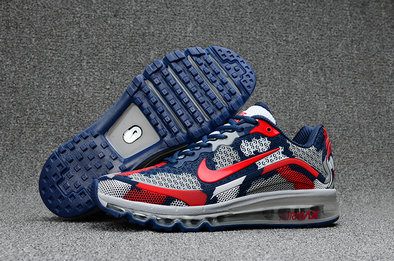 Cheap Wholesale Nike AirMax 2017 Womens Blue Grey Red