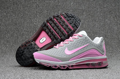 Cheap Wholesale Nike AirMax 2017 Womens Grey Pink
