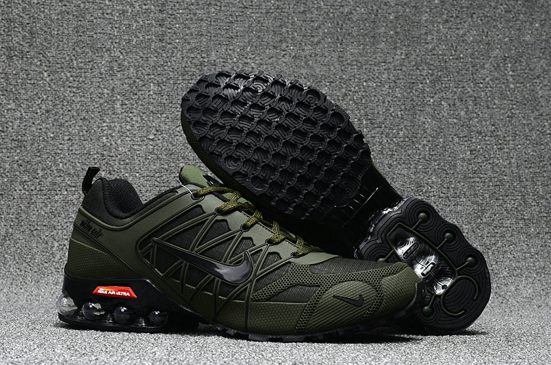 Cheap Wholesale Nike AirMax 2018 Men Army Green Black