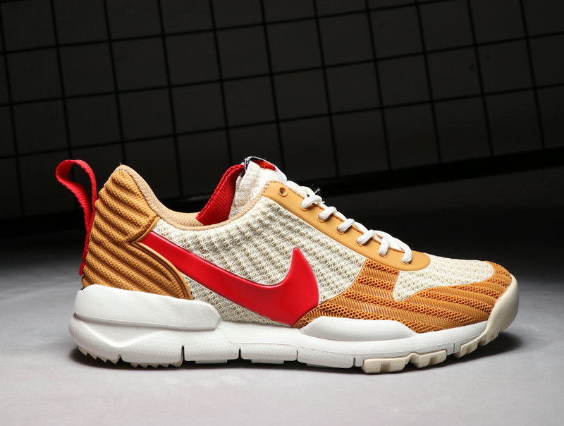 100% authentic 655a5 9bd92 Cheap Wholesale Nike Craft Mars Yard TS NASA 2.0 Gold White Red
