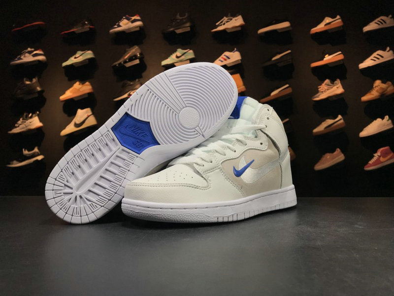 Cheap Wholesale Nike Dunk SB Soulland AH9613 141 Blue White