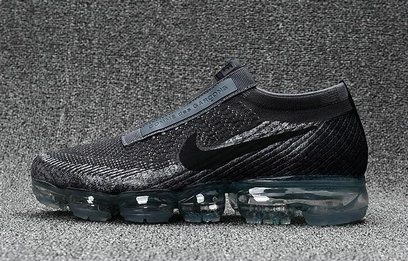 Cheap Wholesale Nike Flyknit Air VaporMax Deep Grey Black Sneakers