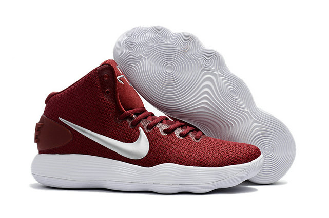 Cheap Wholesale Nike Hyperdunk 2017 Womens Wine Red White
