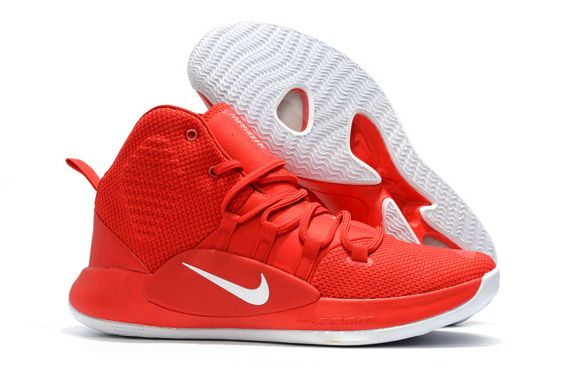 Cheap Wholesale Nike Hyperdunk 2018 Mens Red White