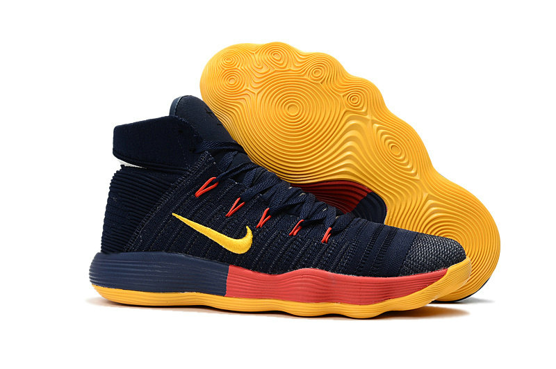 Cheap Wholesale Nike Hyperdunk Flyknit 2017 Womens Red Black Yellow