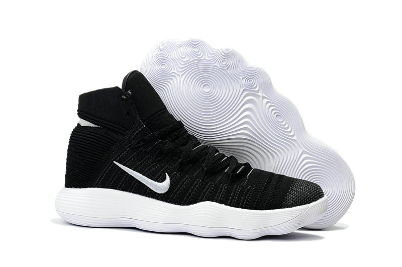 Cheap Wholesale Nike Hyperdunk Flyknit 2017 Womens White Black