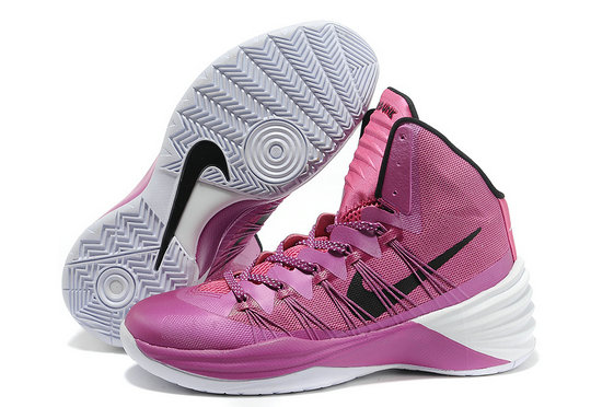 Cheap Wholesale Nike Hyperdunk Women Purple White Black