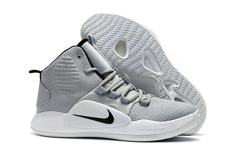 Wholesale Cheap Nike Hyperdunk X EP Basketball Shoes Grey Black White