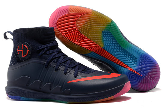 Cheap Wholesale Nike Hyperdunks Cheap Wholesale Nike Hyperdunk 2017 Navy Blue Red Purple