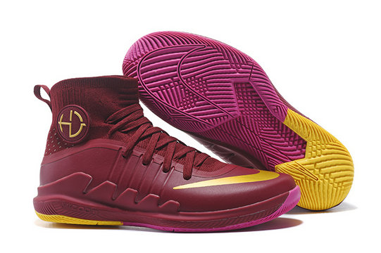 Cheap Wholesale Nike Hyperdunks Cheap Wholesale Nike Hyperdunk 2017 Wine Red Purple Yellow
