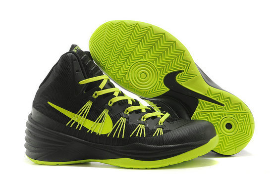 Cheap Wholesale Nike Hyperdunks Women Green Black