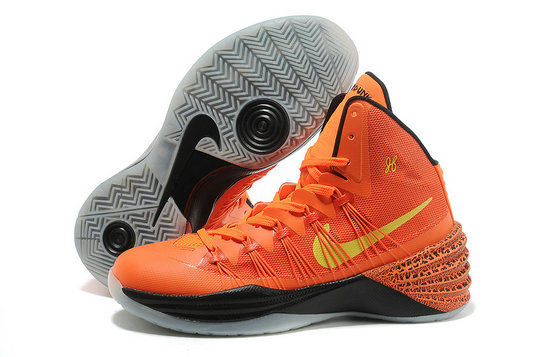 Cheap Wholesale Nike Hyperdunks Women Orange Yellow Black Grey