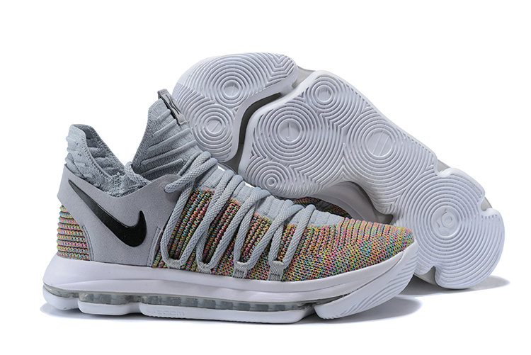 Cheap Wholesale Nike KD 10 Nike Kevin Durant 10 Multi-Color Flyknit