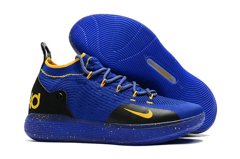 Cheap Wholesale Nike KD 11 For Womens Black Blue Royal Blue