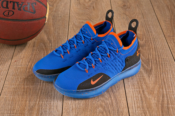 Wholesale Cheap Nike KD 11 XI Orange Blue Black