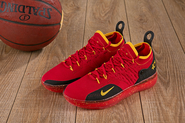 Wholesale Cheap Nike KD 11 XI Red Black Yellow