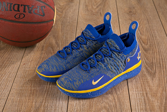 Wholesale Cheap Nike KD 11 XI Royal Blue Gold