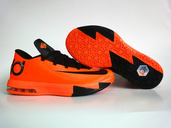 0ddd2f13e67e Cheap Wholesale Nike KD 6 Shoes Black Orange - China Wholesale Nike ...
