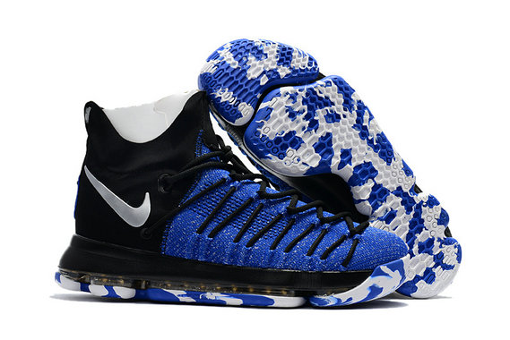 Cheap Wholesale Nike KD 9 (IX) PS Elite Royal Blue Black White