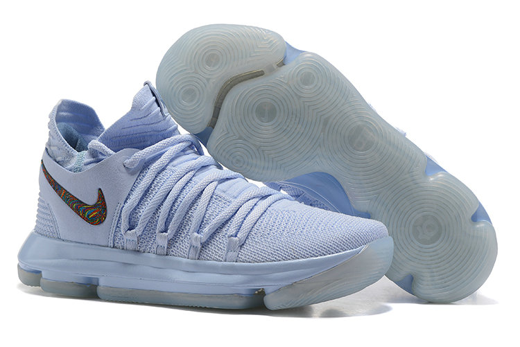 Cheap Wholesale Nike Kevin Durant X PS Elite Light Blue