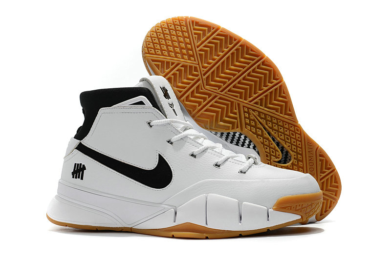 Cheap Wholesale Nike Kobe 1 Protro White Black