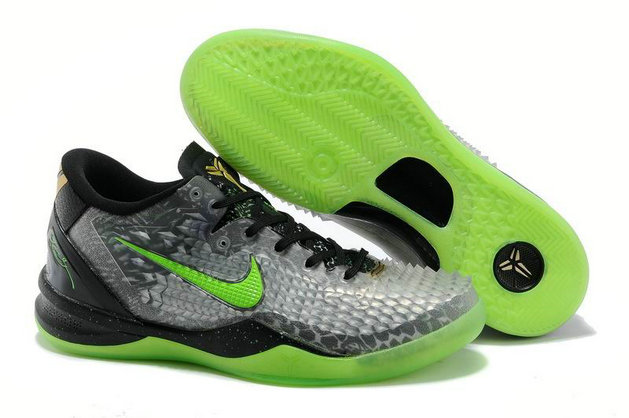 Cheap Wholesale Nike Kobe 8 SYSTEM SS Grey Green Black
