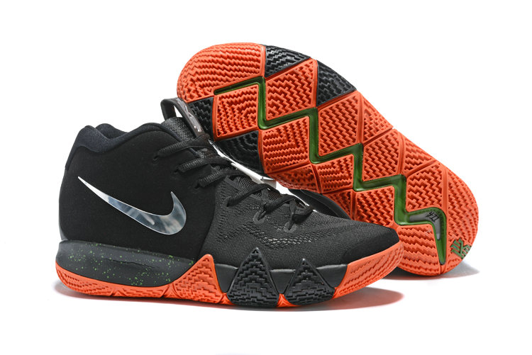 size 40 c1ece afb34 ... where can i buy wholesale cheap nike kyrie 4 irving basketball shoes  silver grey black orange