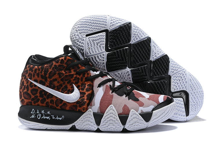 Wholesale Cheap Nike Kyrie 4 Leopard Print For Sale