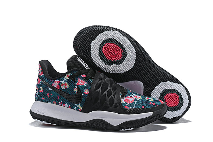 Wholesale Cheap Nike Kyrie 4 Low EP Floral Irving Black Basketball AO8980-002
