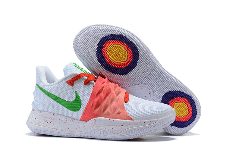 Wholesale Cheap Nike Kyrie 4 Low EP White Red Green