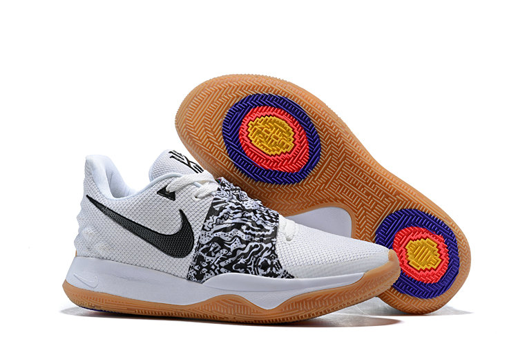Wholesale Cheap Nike Kyrie 4 Low White Black AO8979-100
