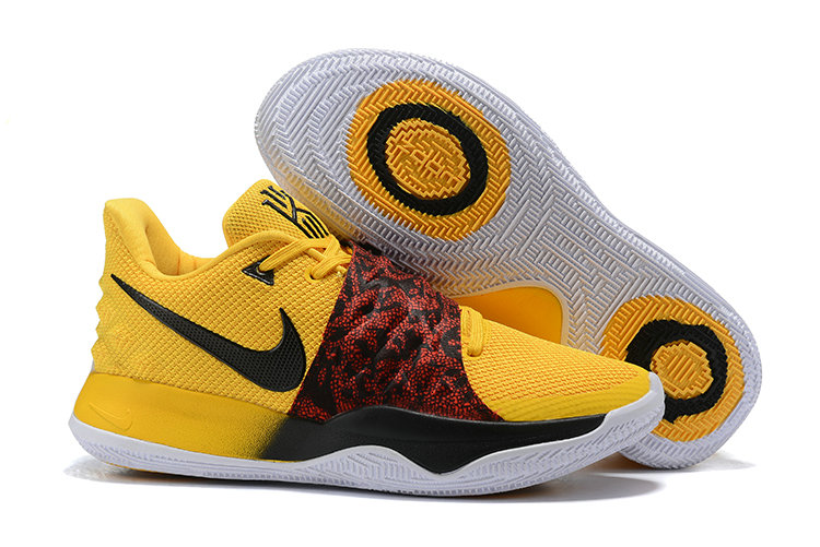 Wholesale Cheap Nike Kyrie 4 Low Yellow Black Red PE